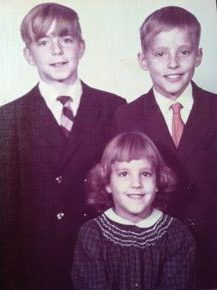 Jerry, Michael, Deborah, mid 1960s